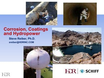 Corrosion Coatings and Hydropower