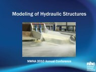 Modeling of Hydraulic Structures