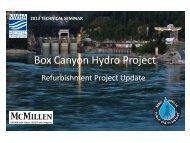 Box Canyon Hydro Project