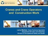 Cranes and Crane Operators and Construction Work