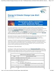 Page 1 of 5 Stoel Rives Climate Change & Energy Law Alert ...