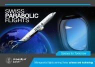 SWISS PARABOLIC FLIGHTS