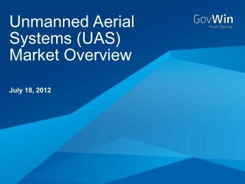 Unmanned Aerial Systems (UAS) Market Overview