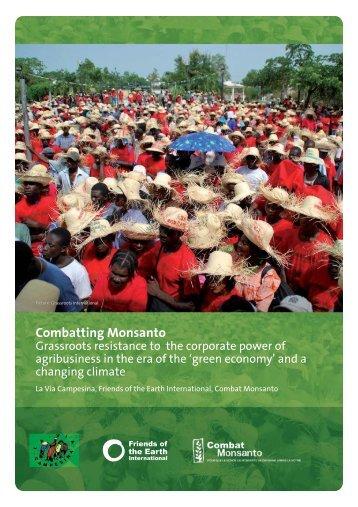 Combatting Monsanto