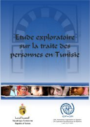 la traite des personnes en Tunisie