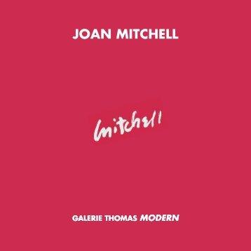 joan mitchell galerie thomas modern