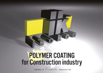 POLYMER COATING for Construction industry