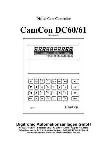 CamCon DC60/61
