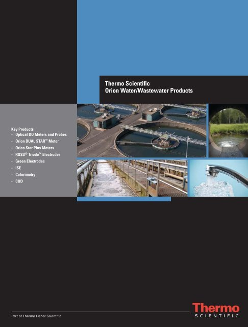 Thermo Scientific Orion Water/Wastewater Products