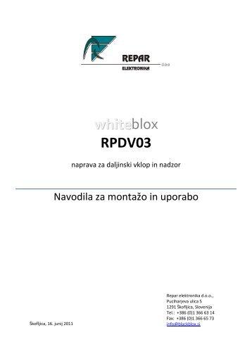 whiteblox RPDV03