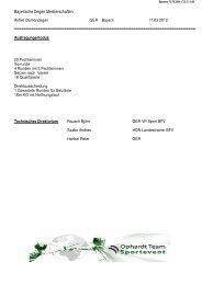 Bayerische Degen Meisterschaften