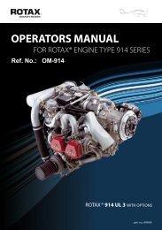 warnung - Rotax Aircraft Engines