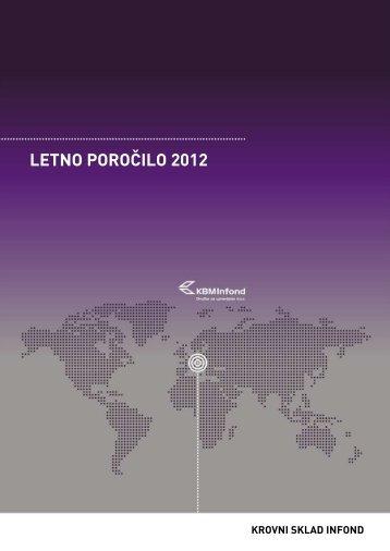 LETNO POROČILO 2012