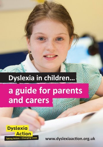 a guide for parents and carers