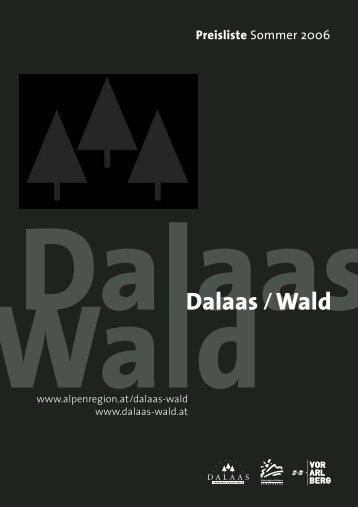 6752 · Telefon-Vorwahl: +43(0) - Dalaas und Wald am Arlberg