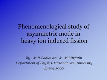 heavy ion induced fission
