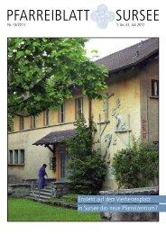 Gottesdienste - Pfarrei Sursee