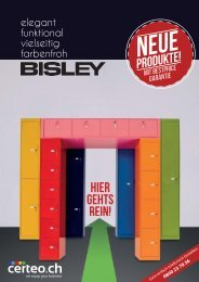 Bisley Neue Produkte