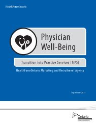 Physician Well-Being