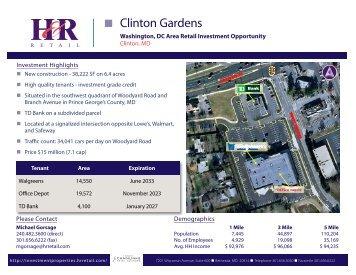 • Clinton Gardens