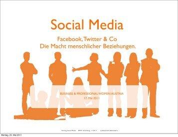 Facebook, Twitter & Co Die Macht menschlicher Beziehungen.