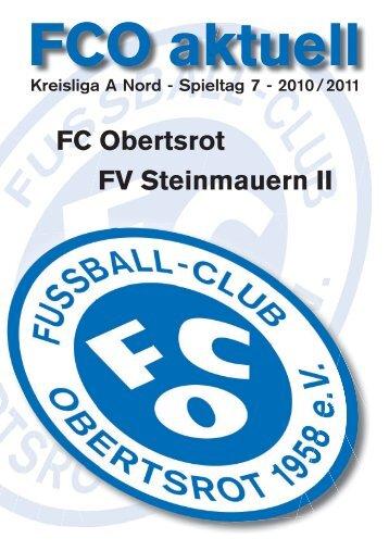 Spieltag 7 - FC Obertsrot