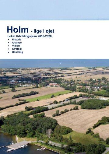 Holm - lige i øjet Lokal Udviklingsplan 2010-2020 - Sønderborg ...