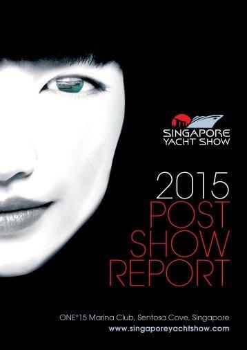 2015 POST SHOW REPORT