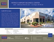 PATRICK AIRPORT BUSINESS CENTER