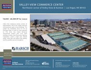 VALLEY VIEW COMMERCE CENTER