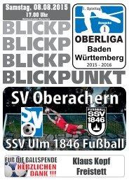 2015/2016 Ausgabe 01 - SSV Ulm