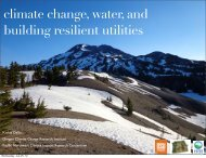 climate change water and building resilient utilities