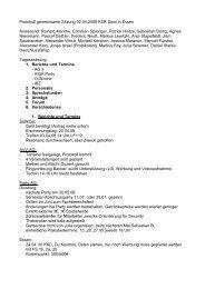 Protokoll gemeinsame Sitzung 02.04.2008 FSR Sowi in Essen ...