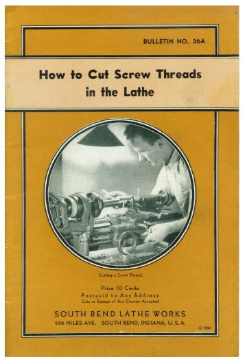 Pages from 1936 How to Cut Screw Threads 1 - Blue Chip Machine Shop