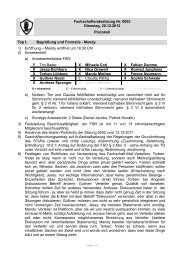 Protokoll FSR-Sitzung bzw