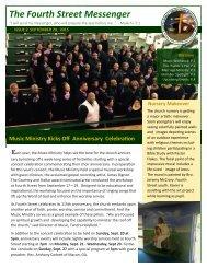 The Fourth Street Messenger anniversary