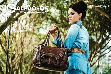 Catálogo Galpão 65 - Primavera 2015