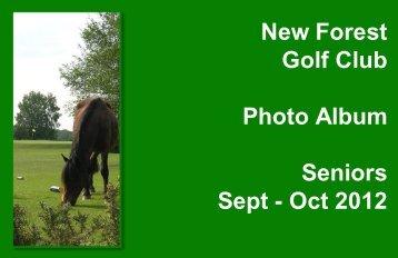 Sept - Oct 2012