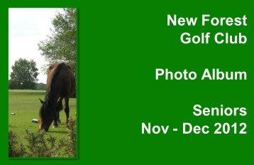 Nov - Dec 2012