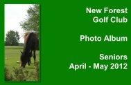 April - May 2012