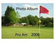 Photo Album Pro Am 2008