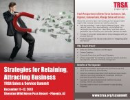 Strategies for Retaining Attracting Business
