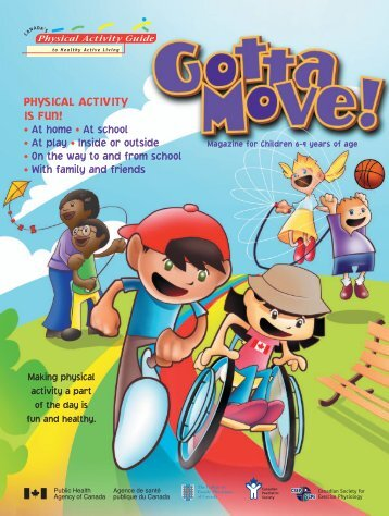 Gotta Move!' Interactive Magazine for Children