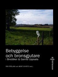 Rapport 2007:03 - Upplandsmuseet
