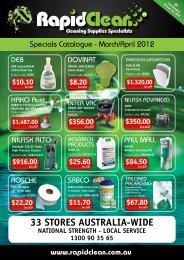 33 STORES AUSTRALIA-WIDE Catalogue