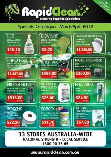 33 STORES AUSTRALIA-WIDE Catalogue