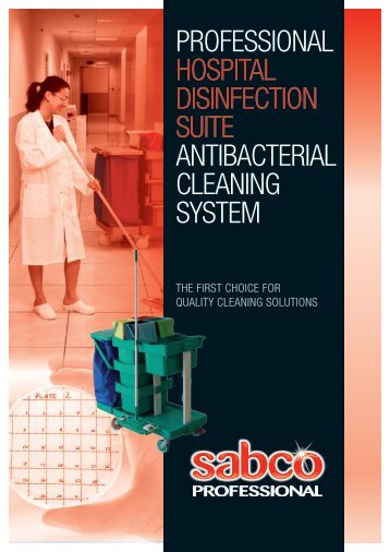 PROFESSIONAL HOSPITAL DISINFECTION SUITE ANTIBACTERIAL CLEANING SYSTEM