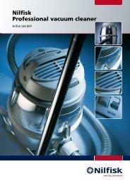 Nilfisk Professional vacuum cleaner