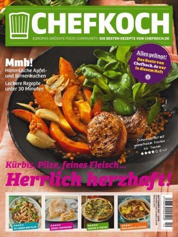 Chefkoch Magazin Oktober No 10 2015