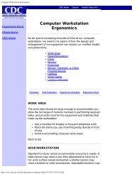Computer Workstation Ergonomics